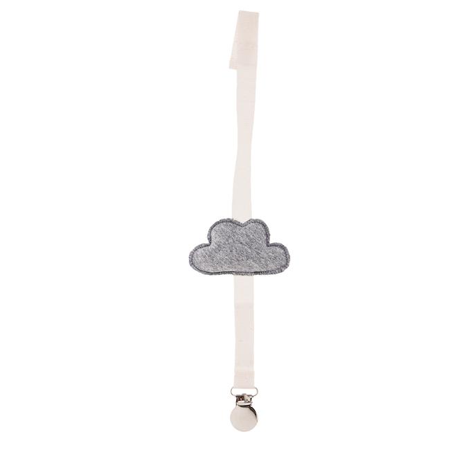 portaciuccio nuvola grigia fronte