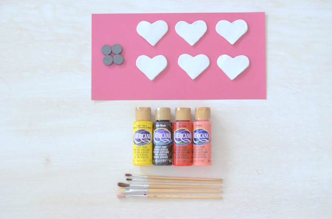 Almalu's Place Valentines Magnet DIY