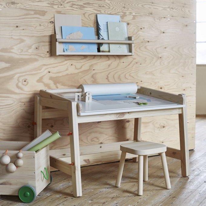 Ikea flisat design scandinavo per bambini - Scrivanie per ragazzi ikea ...