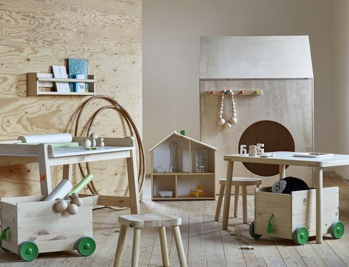 Scrivania Per Bambini Ikea : Ikea flisat: design scandinavo per bambini!