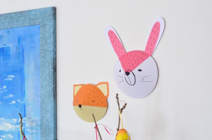 Trofei di Carta Coniglio Volpe