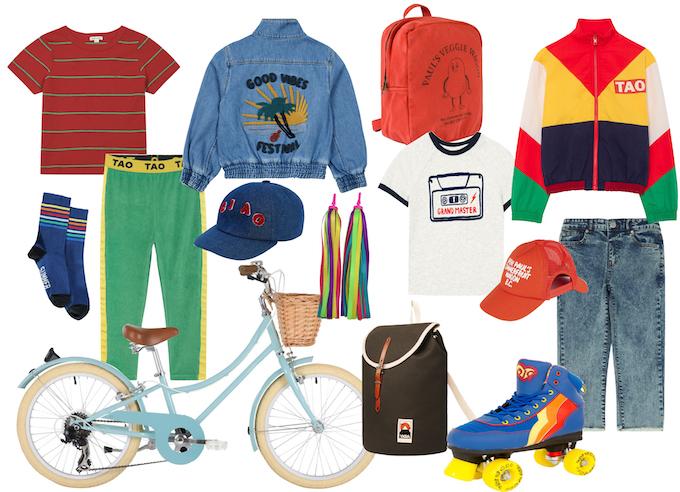 moda bimbo ispirata a stranger things