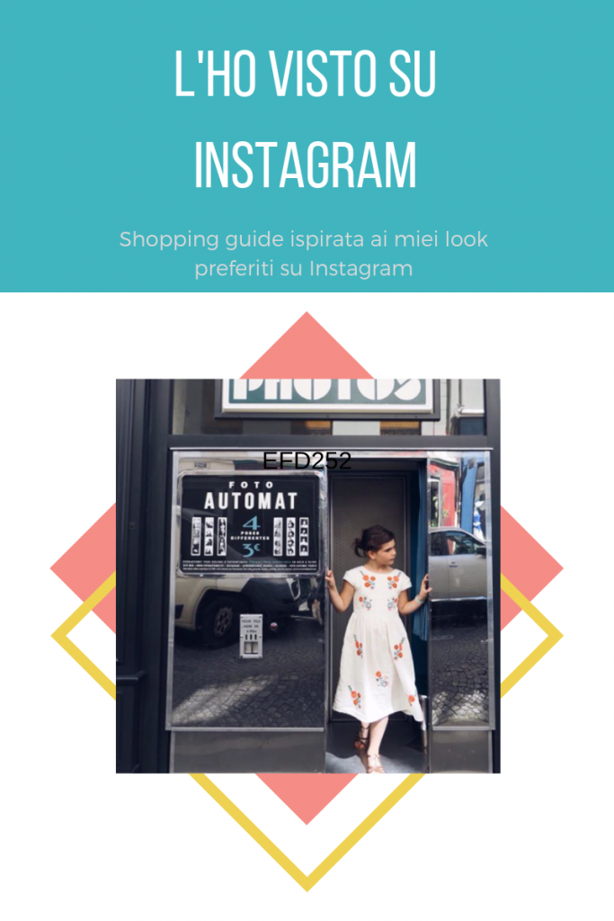 shopping guide ispirata da Instagram